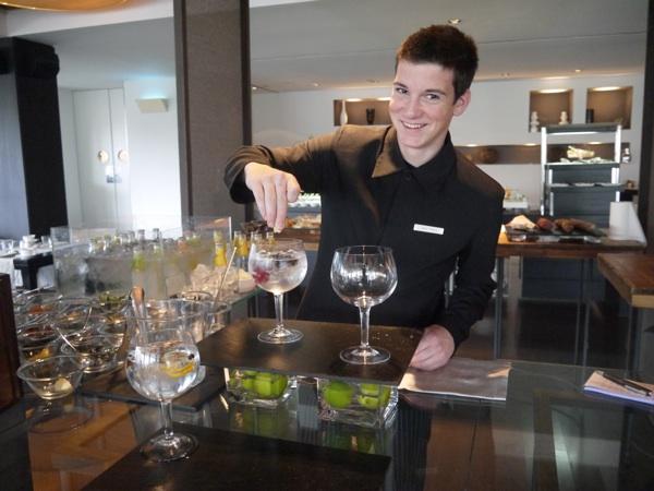 gin tonic hotel arts brunch