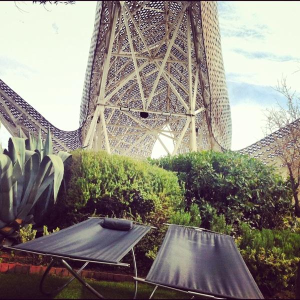 hotel arts pez tumbona
