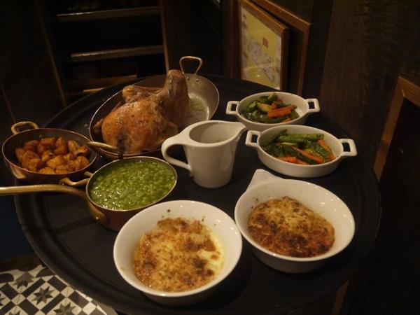 menu pollo chez coco restaurante