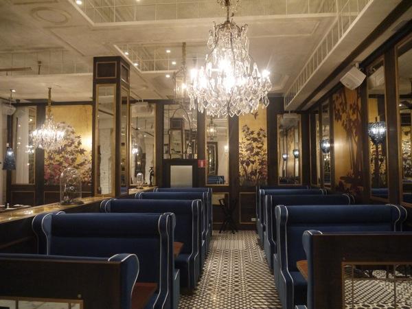 restaurante silla tren