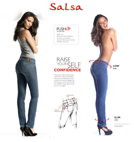 salsa jeans push up