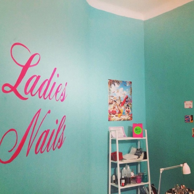 ladies nails