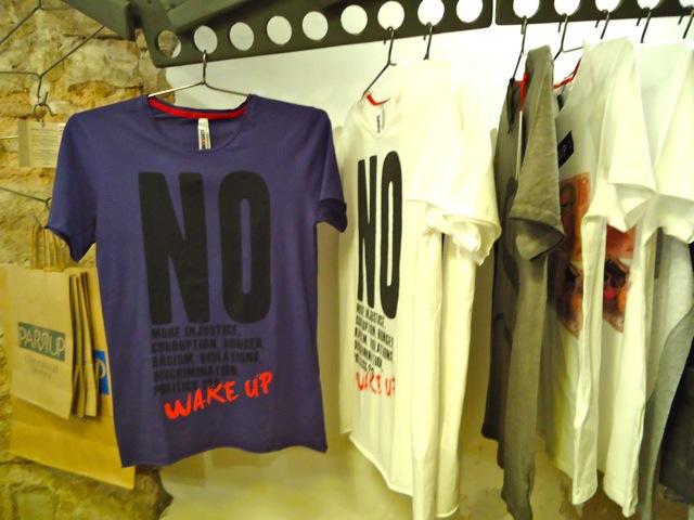 Camiseta Solidaria Barrio Santo 1