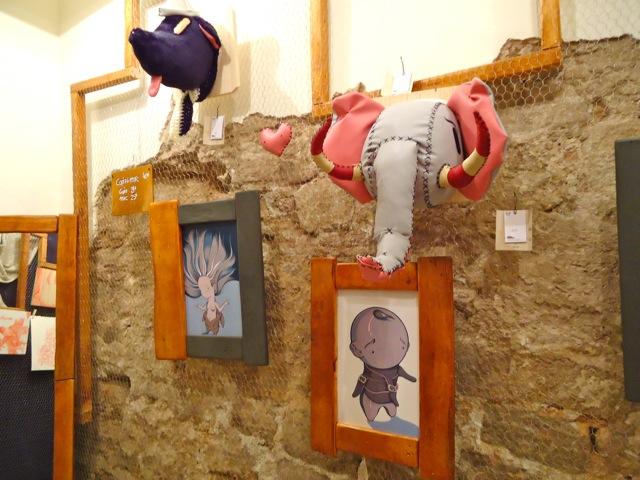 Esculturas e ilustraciones Twee Muizen Galería Parrup