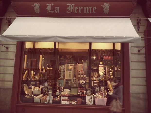 la ferme tienda gourmet francia