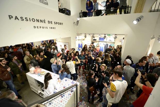 Le Coqu Sportive -fiesta inauguracion tienda barcelonaLe Coqu Sportive -fiesta inauguracion tienda barcelona