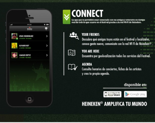 connect app heineken