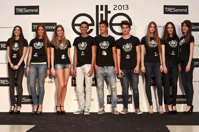 Finalistas 2013 elite model look españa
