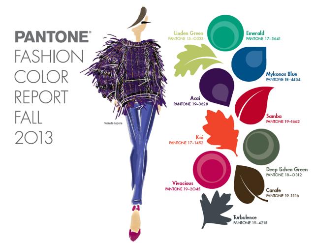 color trend f2013 pantone