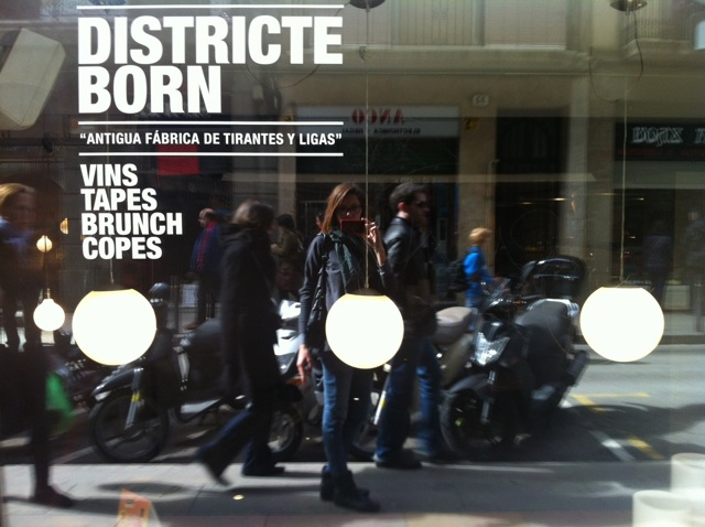 districte born restaurante barcelona