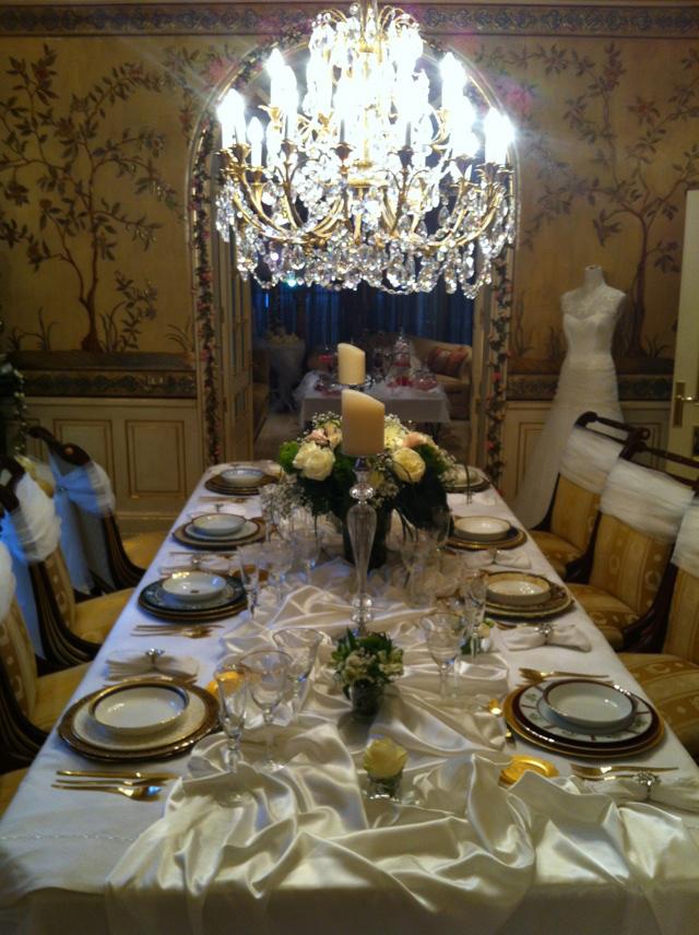 mesa novios bodas