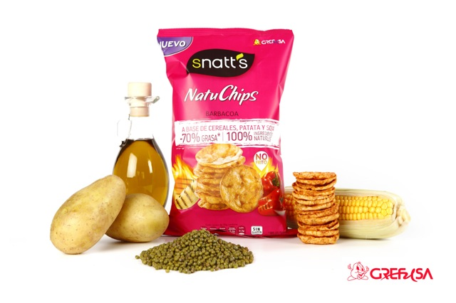 NATUCHIPS ingredientes naturales