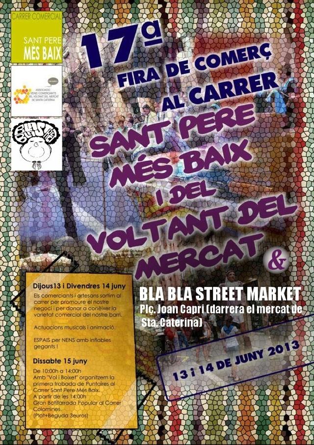 bla bla market barcelona