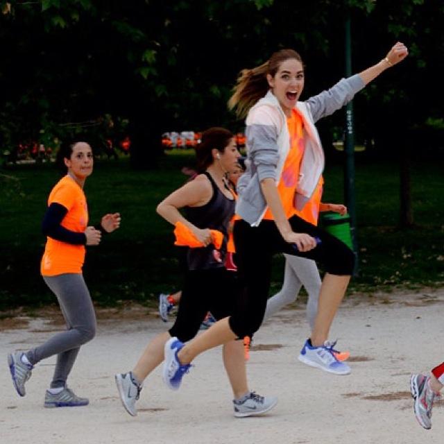chiara ferragni maraton