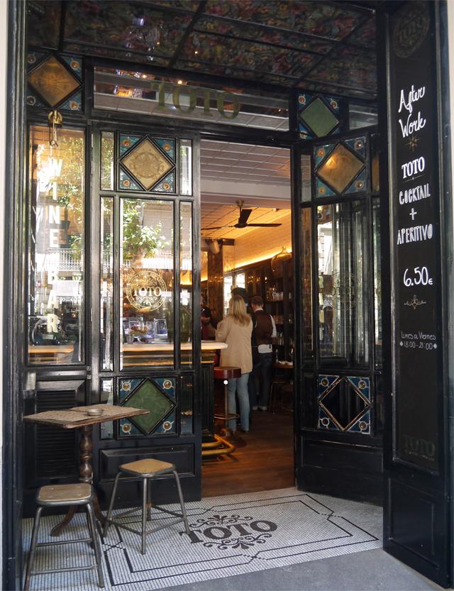 entrada toto restuante slow food barcelona