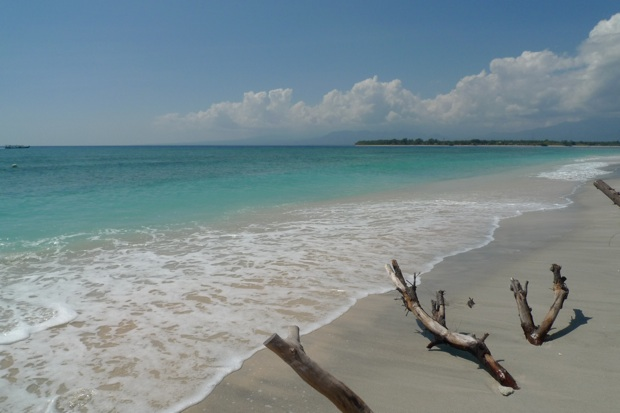 foto playa Gili Trawangana
