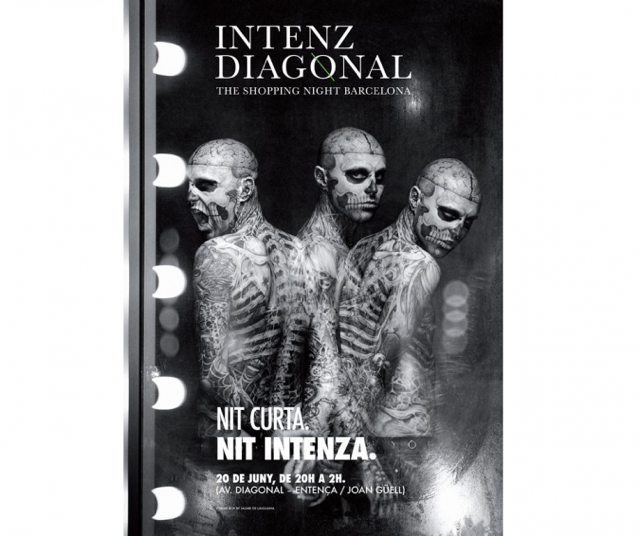 intenz diagonal shopping night barcelona