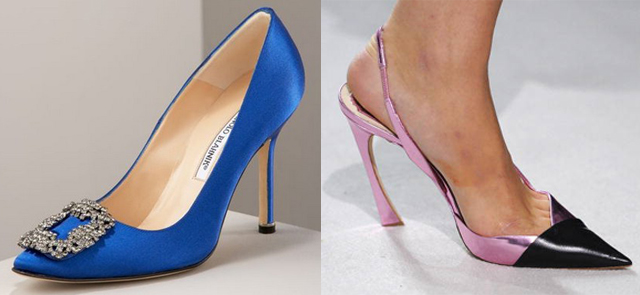manolo christian dior stiletto