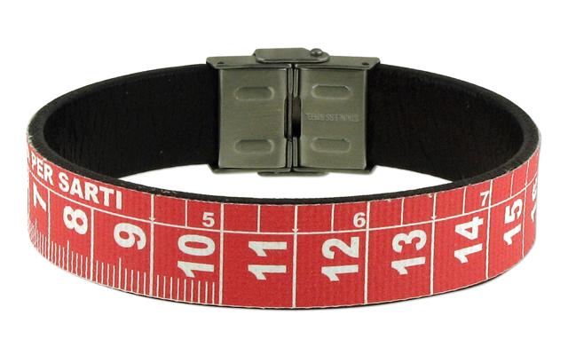 metrik roja pulsera