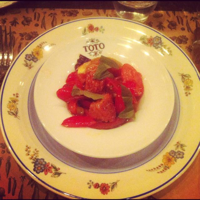 plato tomates km0