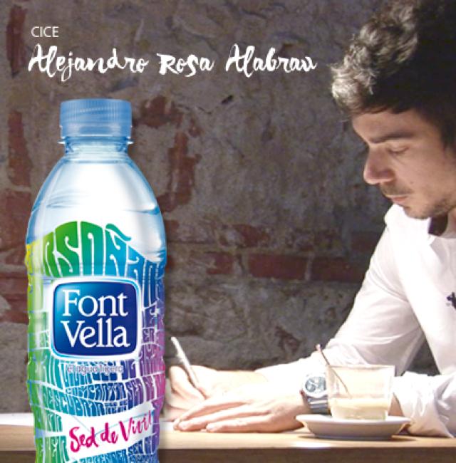 sed de vivir diseñador botella