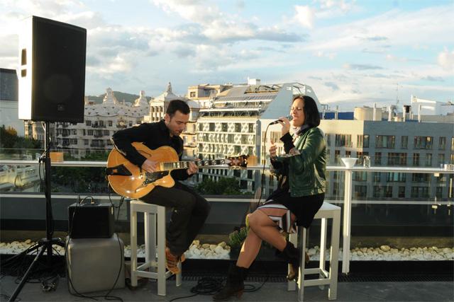 terraza alaire concierto
