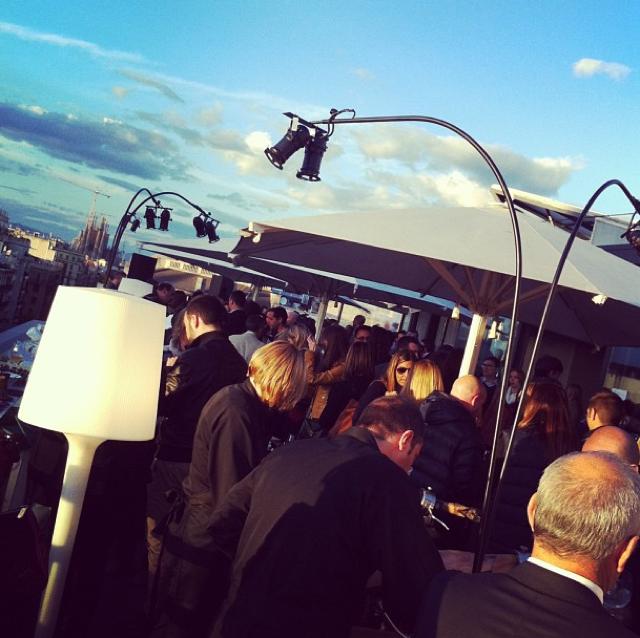inauguración terraza alraire hotel condes barcelona