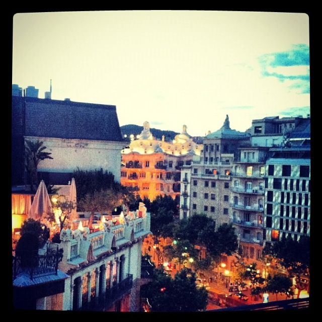 terraza alraire hotel condes barcelona