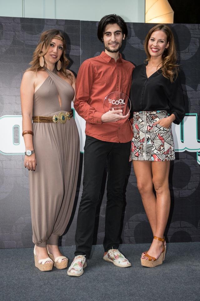 Ganador THE BEST COOLWAY Jose Pastor Bermudez con Paola Dezi de Coolway y Jessica Bueno