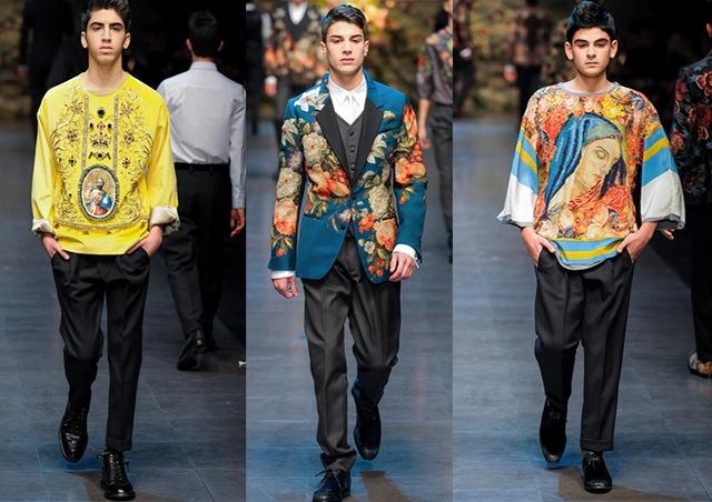 Dolce&Gabbana f/w 2013