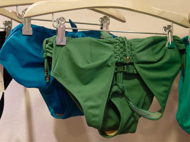 bikini customizado verde
