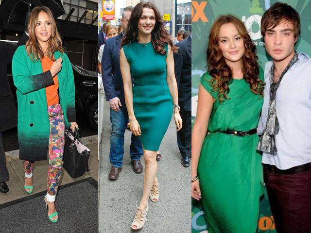 celeb verde smeralda