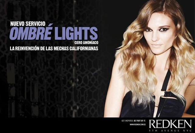 mechas californianas redken ombre lights