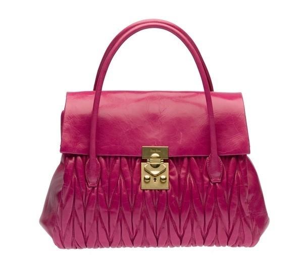 miu miu handbag-fucsia