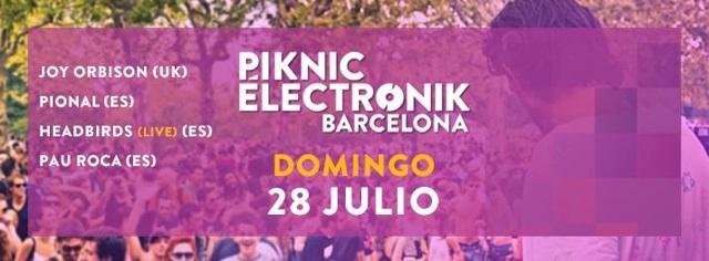 piknik electronik barcelona