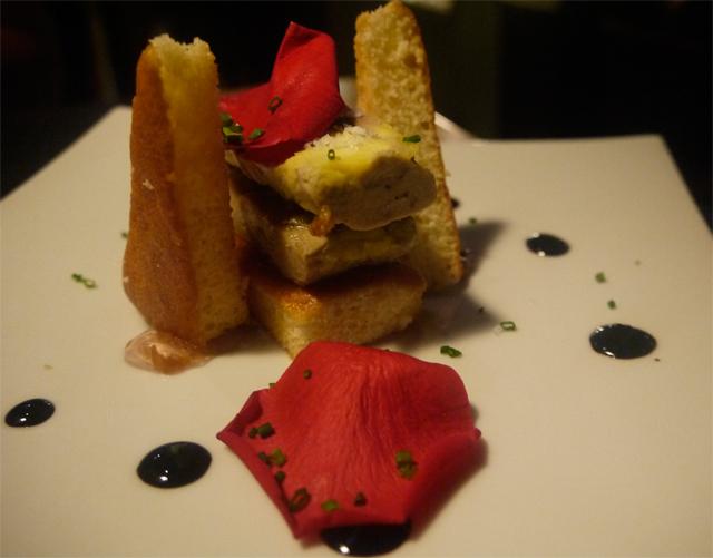 tapa foie restaurante casa chelis