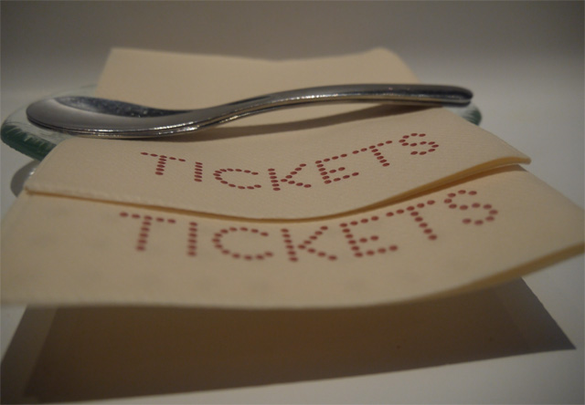 ticket cuchara postre