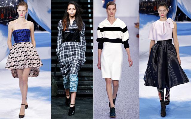Dior Chloe Celine Dior white black