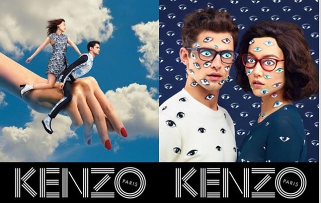 Kenzo-campaña publicitaria o/i 2013-14