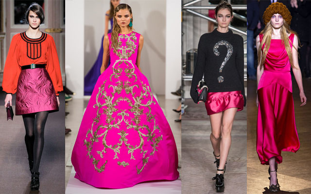 Andrew gn oscar de la renta moschino cheap and chic giles