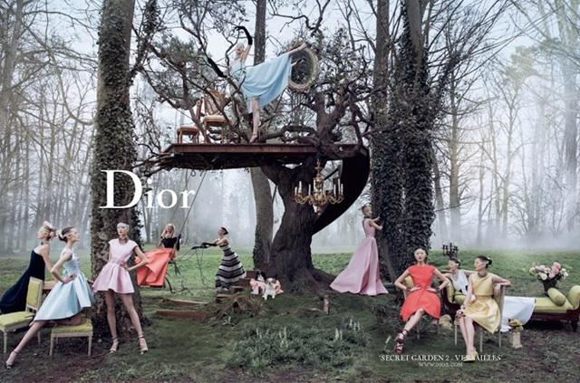 Christian Dior campaña publicitaria o/i 2013-14