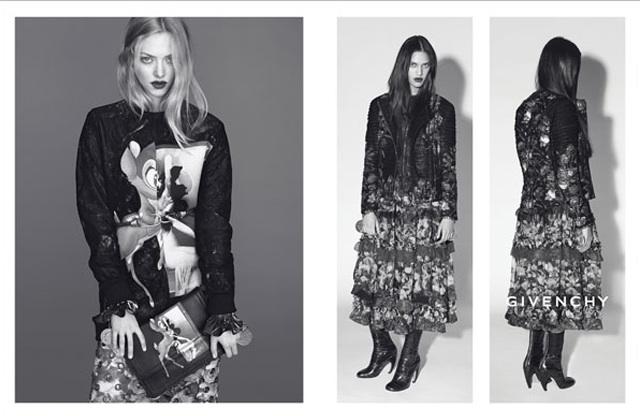 Givenchy campaña publicitaria o/i 2013-14