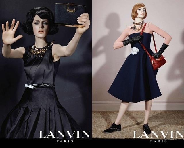 Lanvin-campaña publicitaria o/i 2013 14