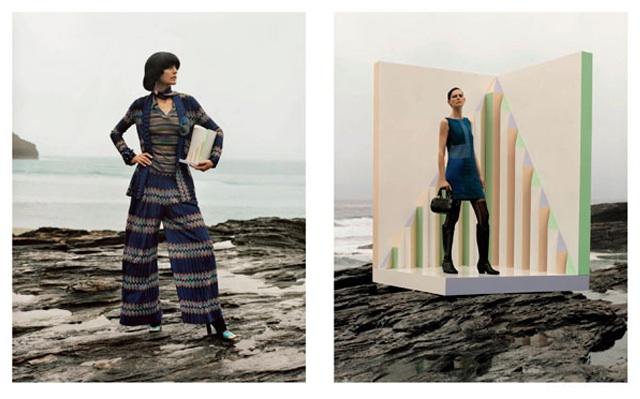 MISSONI-campaña publicitaria otoño invierno 2013-14