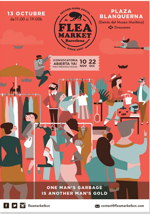 flea market octubre