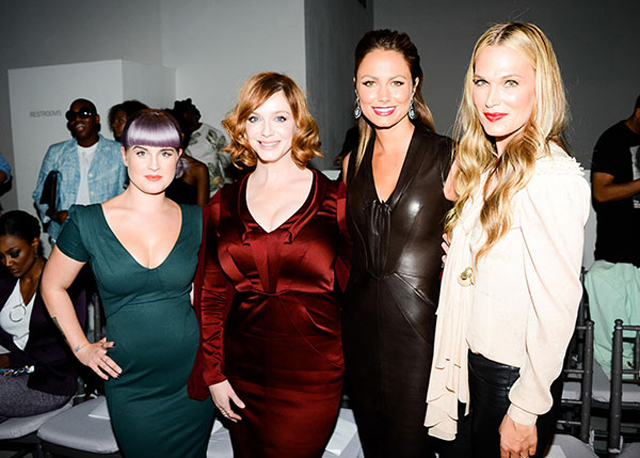 zac-posen-front-row-nyfw14-Kelly-Osbourne-Christina-Hendricks-Stacy-Keibler-Milly-Sims-lgn