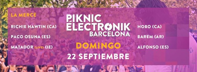 piknic electronic two market 22 septiembre
