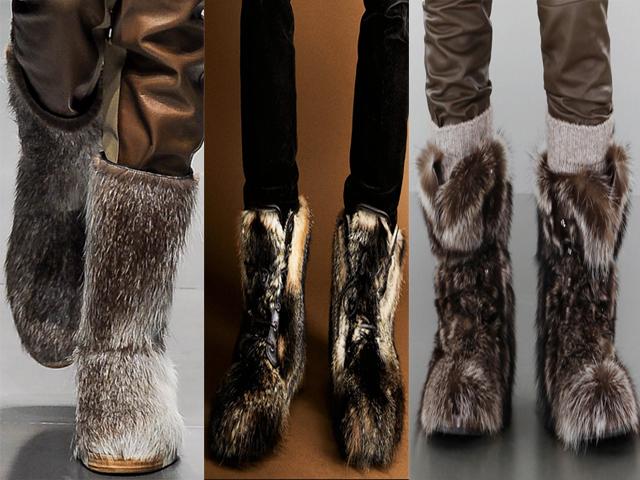 zapatos BOTAS DE NIEVE