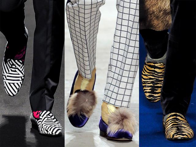zapatos moda hombre SLIPPERS