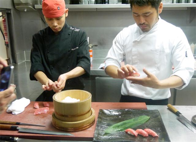 preparar sushi japones